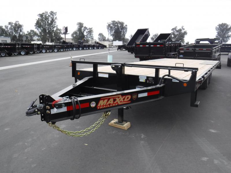 2018 Maxxd Trailers 14KDECKOVER Equipment Trailer