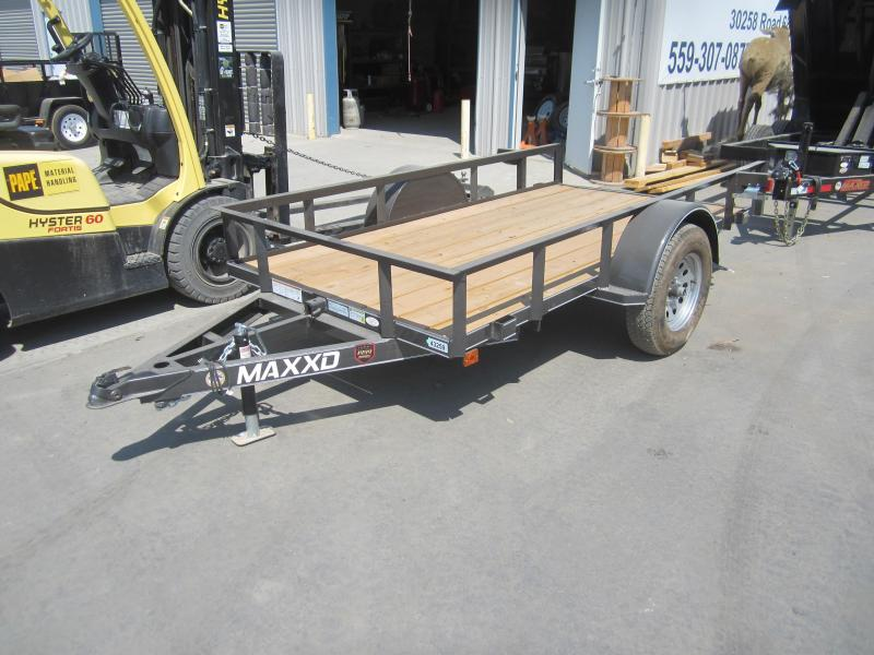 2016 Maxxd Trailers 10X61 WHITE SERIES SINGLE AXLE QUICK TILT Flatbed Trailer