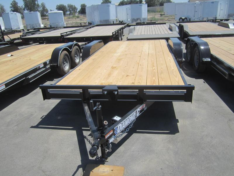 2016 Diamond C Trailers RCS18X83 CAR MOVER Flatbed Trailer