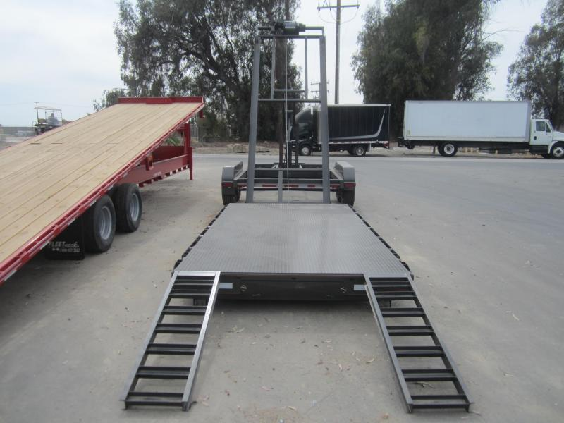 2016 Maxxd Trailers 14X83 ROLL OFF Flatbed Trailer