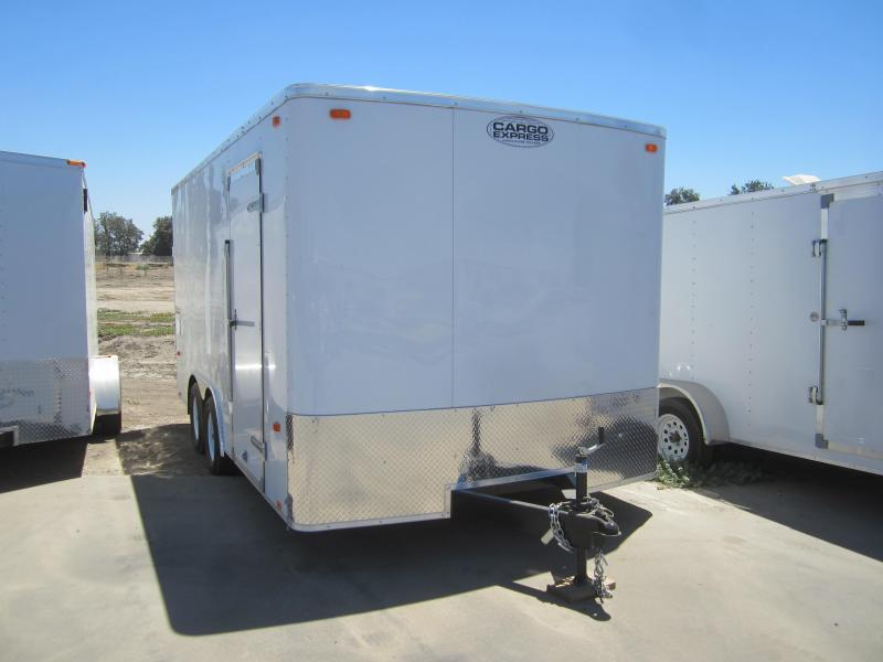 2016 Cargo Express EX85X16TE2 Enclosed Cargo Trailer