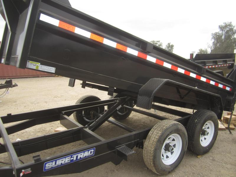 "2017 Sure-Trac 72"" X 12' LOW PRO Dump Trailer"