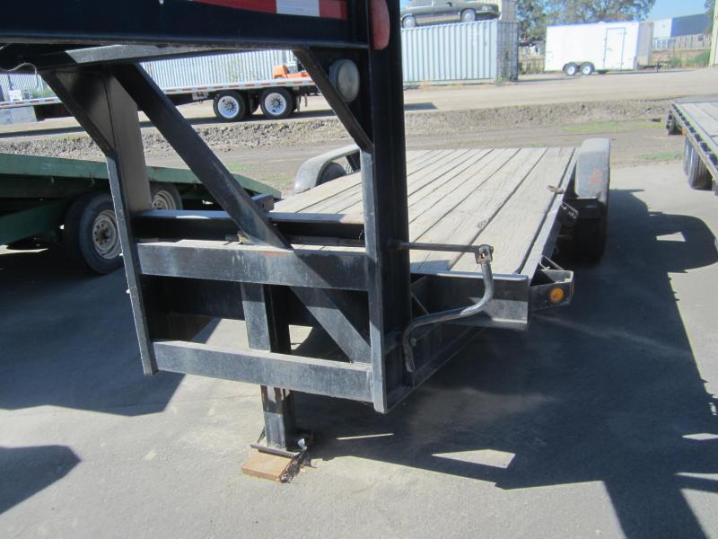 Other gooseneck wood flatbed trailer bronco