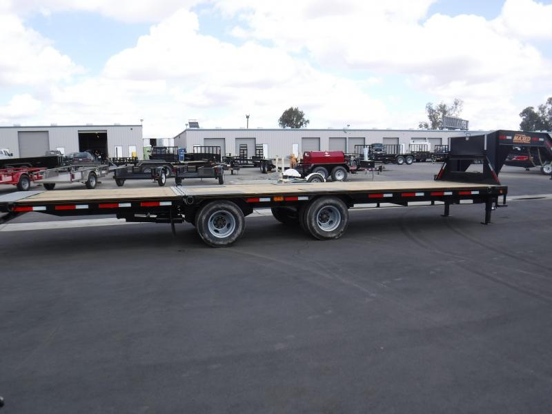 2019 Maxxd Trailers TANDEM DUAL HYDRAULIC DOVETAIL Equipment Trailer