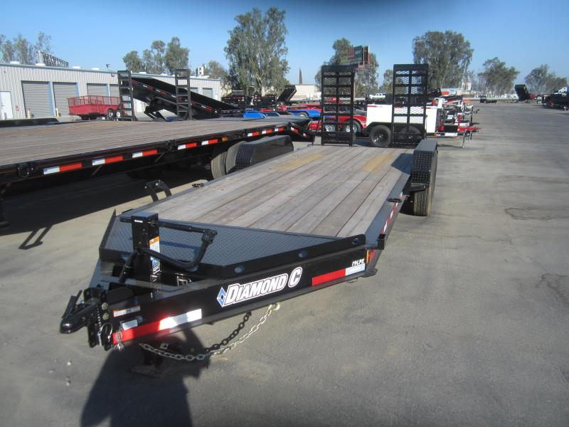 2016 Diamond C Trailers DC19LPX/20 Equipment Trailer