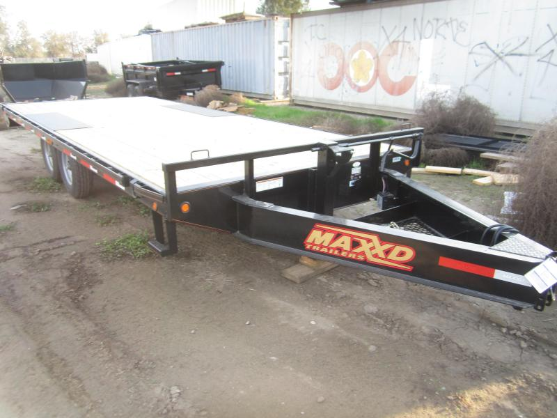 2017 Maxxd Trailers 20X102 14K DECKOVER Flatbed Trailer