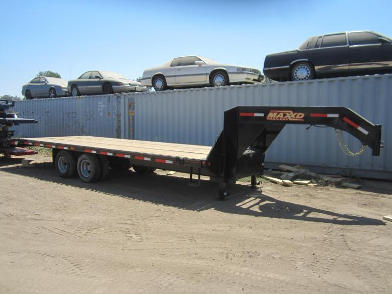 2017 Maxxd Trailers 26X102 MAXXD FLATBED TILT WITH DUALS Flatbed Trailer