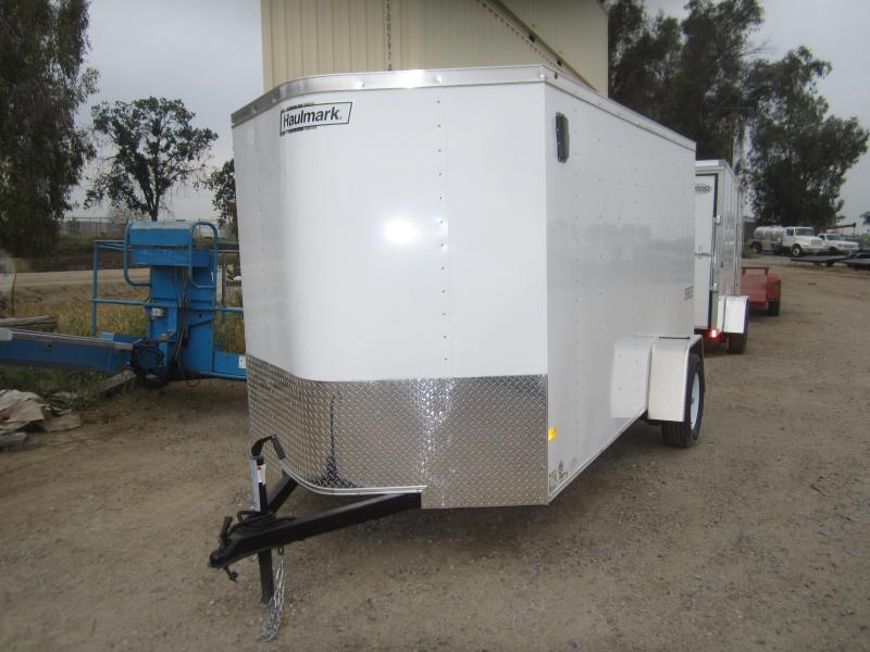 2017 Haulmark 6X10 Enclosed Cargo Trailer