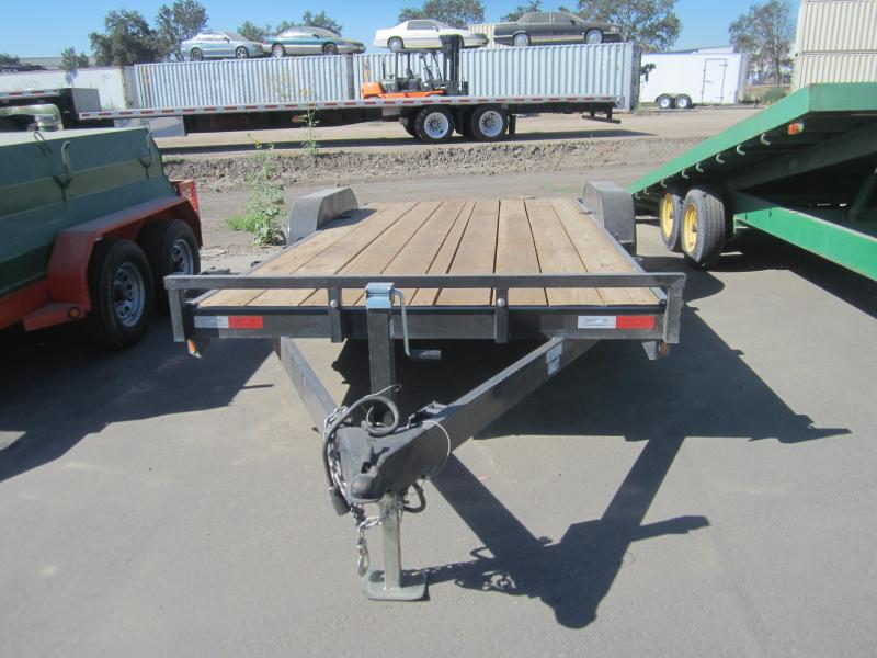 Wood Flatbed Trailer ~ Iron panther wood car mover flatbed trailer bronco