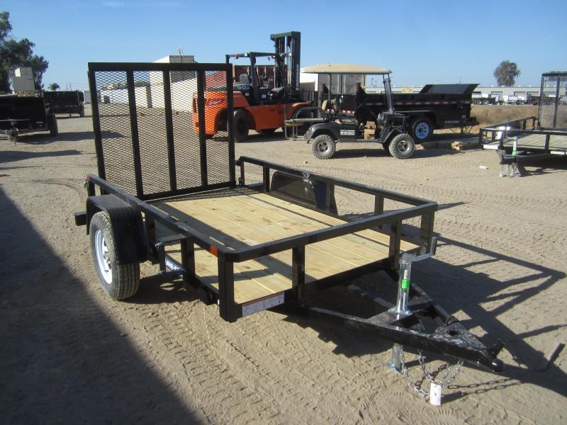 2016 Sure-Trac ST6208TA-B-030 Utility Trailer