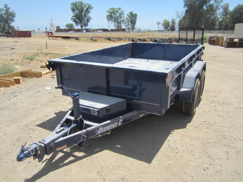 2016 Diamond C Trailers 24LPD Dump Trailer