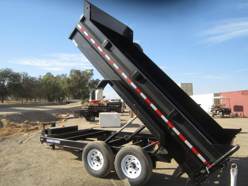 2016 Sure-Trac ST8214DD-B-140 Dump Trailer