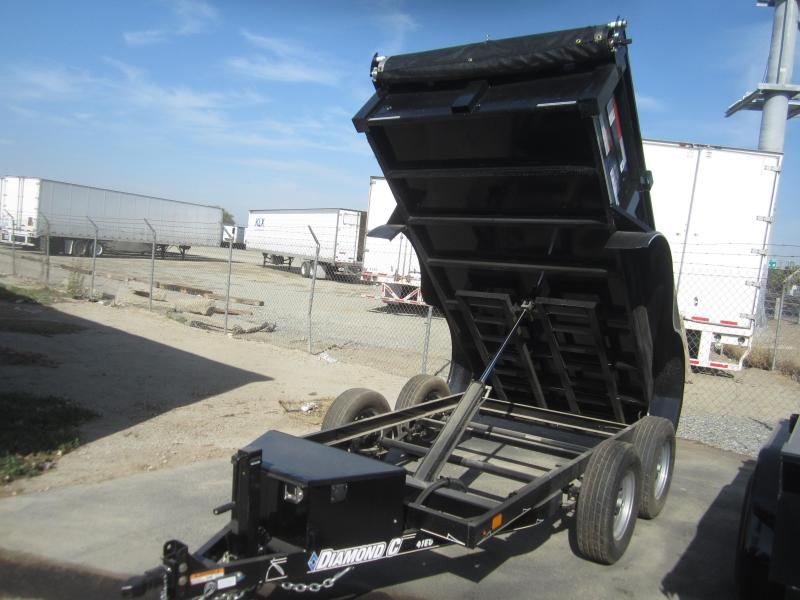 2016 Diamond C Trailers 10X60 Dump Trailer