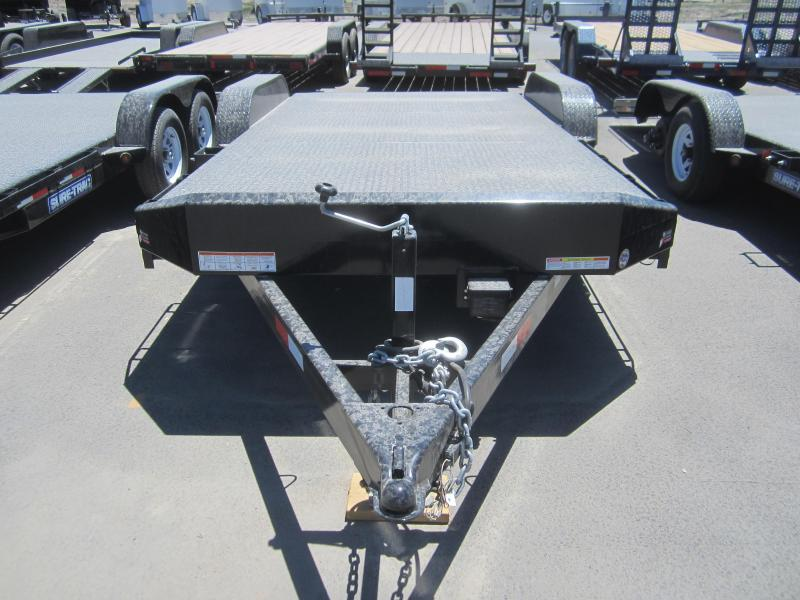 2016 Sure-Trac ST8218CHS-B-100 CAR Trailer