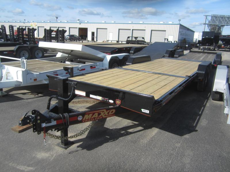"2017 Maxxd Trailers 24X83- 6"" GRAVITY/EQUIPMENT TILT Equipment Trailer"