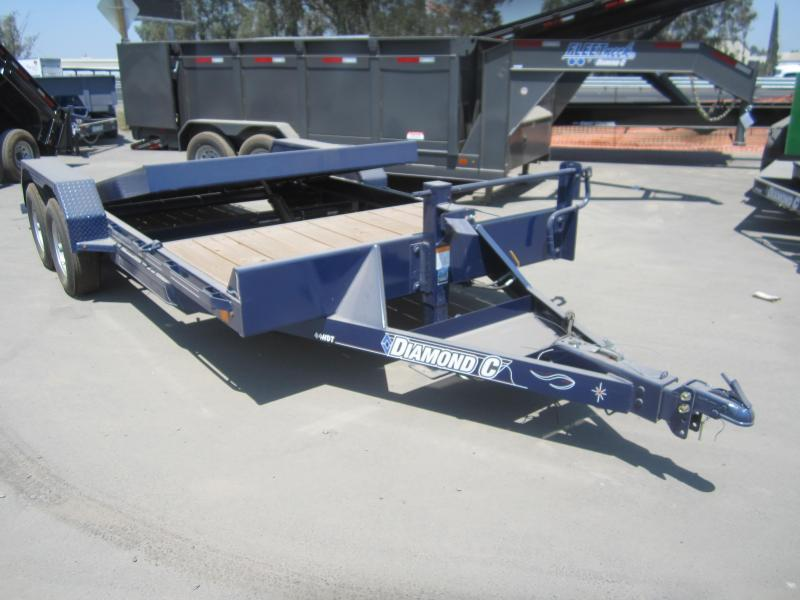 2016 Diamond C Trailers 44HDTL18X82 Flatbed Trailer