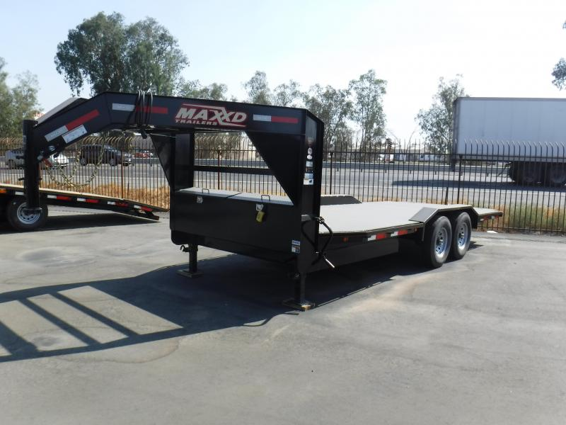 2018 Maxxd Trailers 8 CHANNEL POWER TILT Equipment Trailer