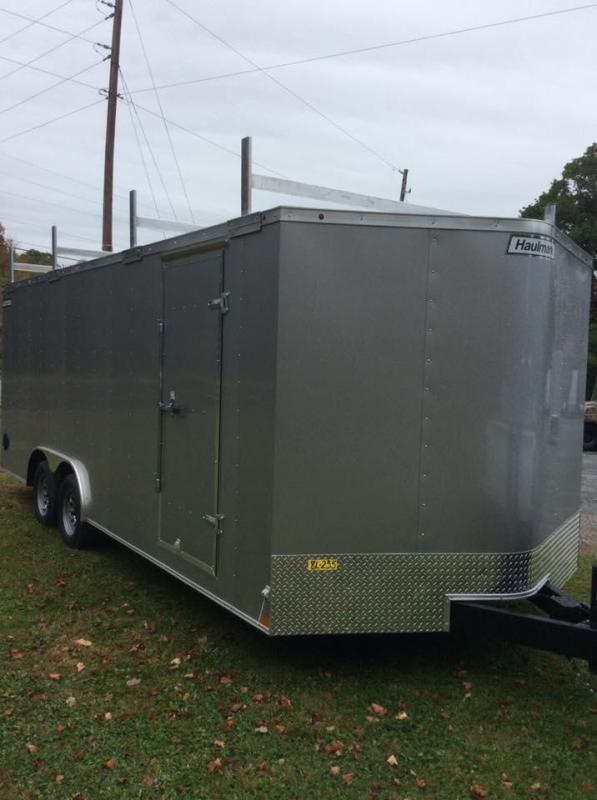 2020 Haulmark Passport Deluxe 8.5 x 20  Enclosed Cargo Trailer