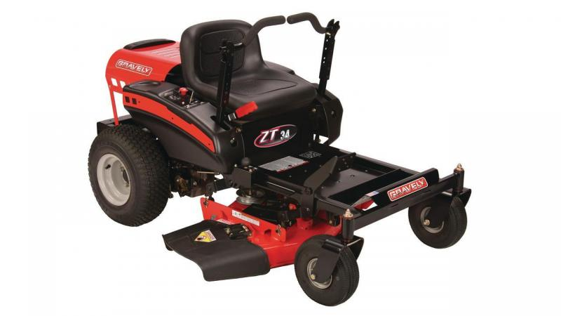 2016 Gravely ZT 34 Equipment/ Zero Turn Mower