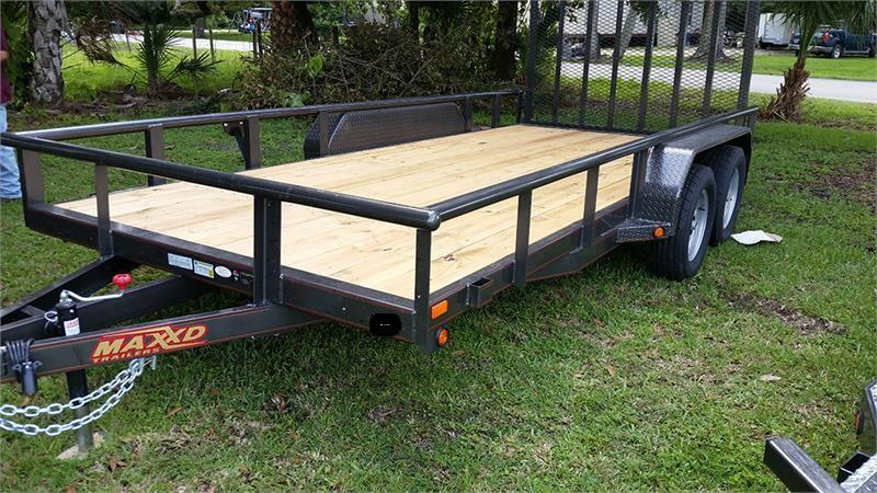 "2019 MAXXD 18'X83"" Utility Trailer    ******HAVE EVERY SIZE YOU MAY NEED IN STOCK******"
