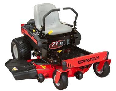 2016 Gravely ZT 50 Equipment/Zero Turn Mower
