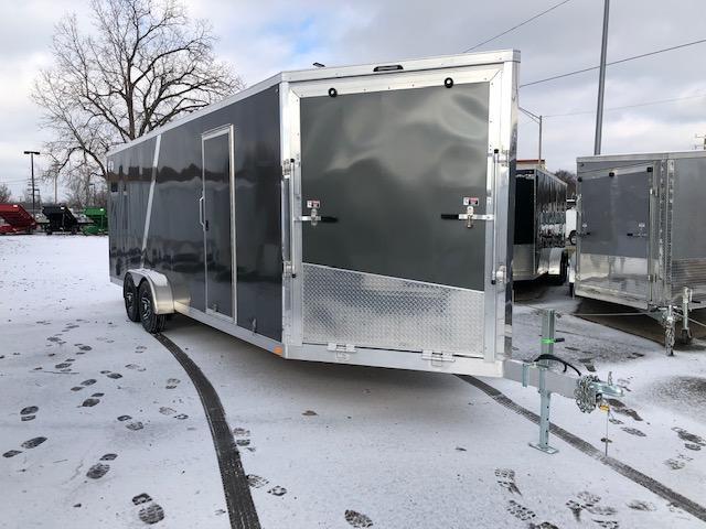 7 X 27 Enclosed Snowmobile Trailer