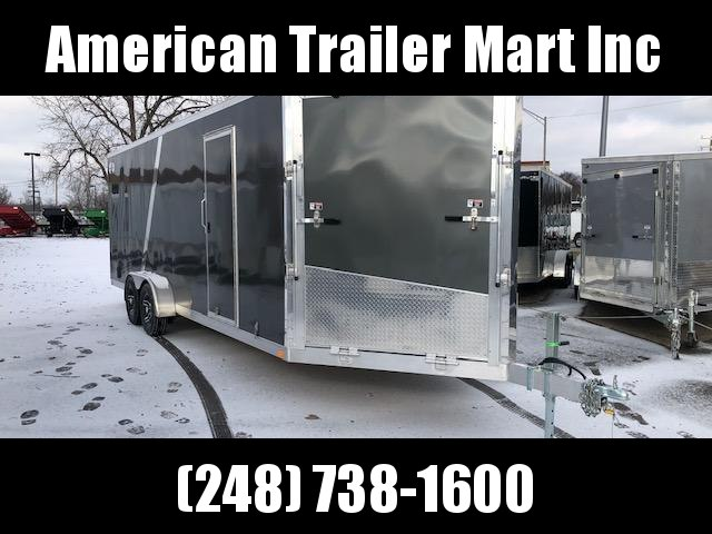 7 X 27 Enclosed Snowmobile Trailer