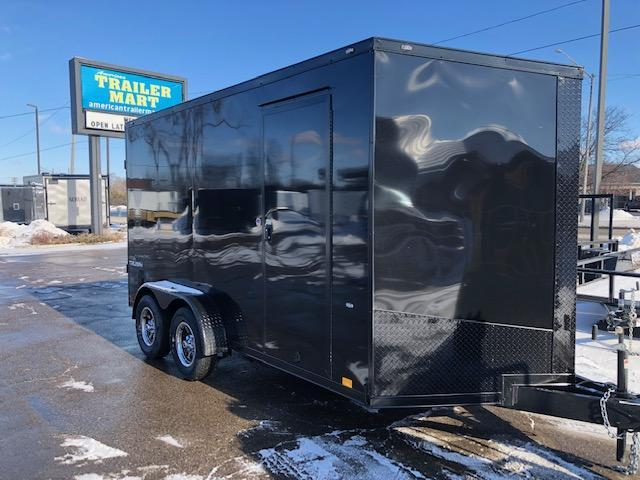 7 X 14 Enclosed Trailer With Blackout Pkg
