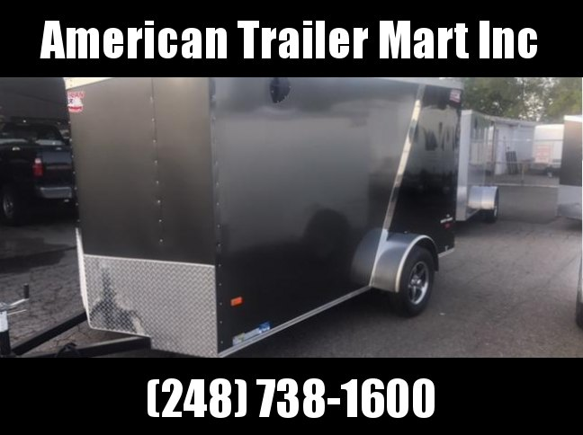 6 X 12 Single Axle Enclosed Trailer