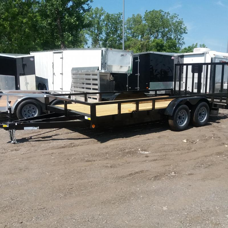 83 X 16 Open Car Hauler