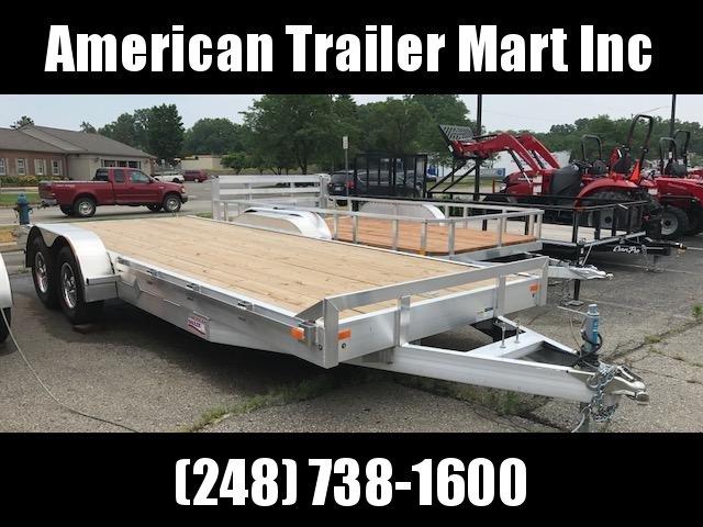 "82"" X 20 Tandem Axle Equipment Trailer / Flatbed / Open Car Hauler Trailer"