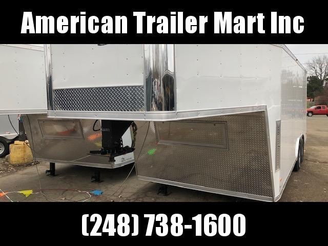 8.5 X 28 TA3 Enclosed Fifth Wheel Cargo Trailer
