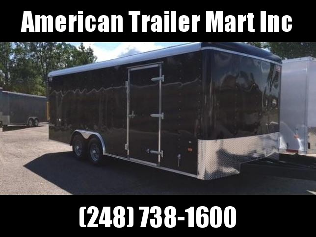 8.5 X 18 Tandem Axle Enclosed Car Hauler Trailer