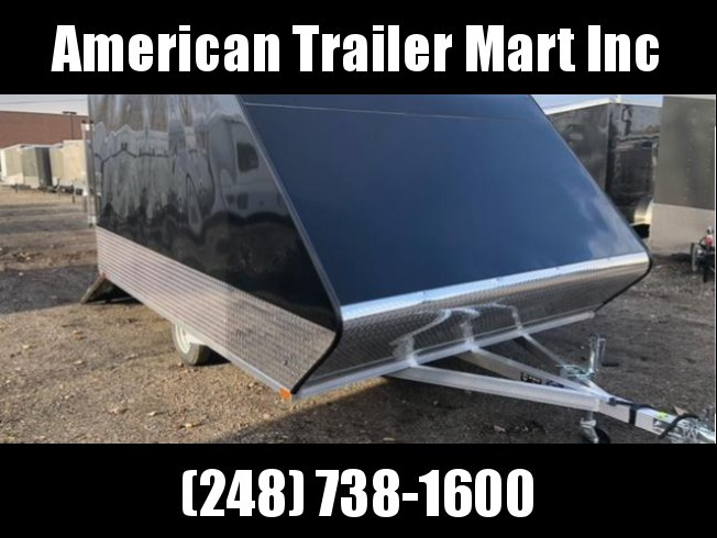 8.5 X 11 Enclosed Snowmobile Trailer