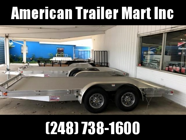 "83"" X 18 Open Car Hauler/Flatbed Trailer"