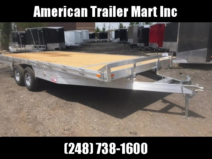 8.5 X 20 Deckover / Flatbed / Open Car Hauler Trailer