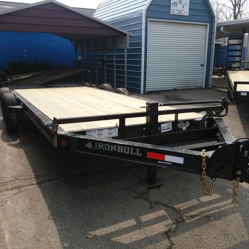 83 X 18 IRON BULL HD Equipment Hauler Trailer 14K