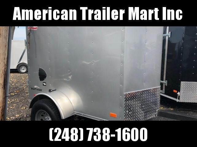 4 X 6 Single Axle Enclosed Trailer