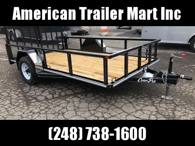 6.5 X 12 Open Utility Trailer (5K Axle)