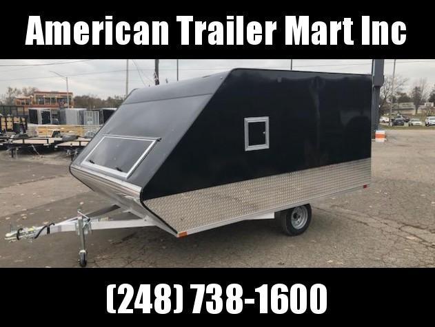 8.5 X 11 Enclosed Snowmobile Trailer