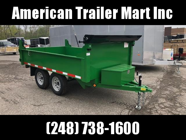 6 X 10 Dump Trailer (Deck Over)