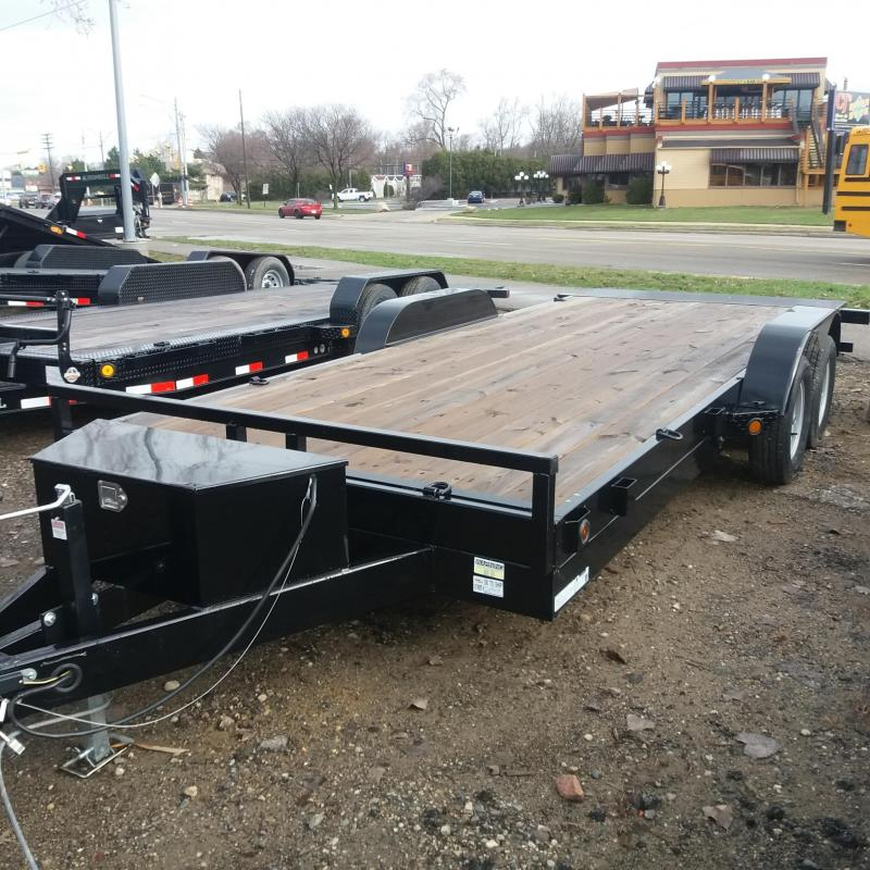 83 X 18 Tilt Car/Equipment Hauler Trailer
