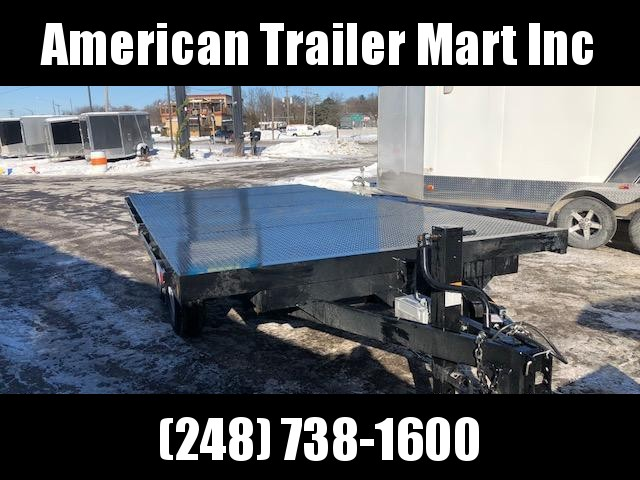 "8'6"" X 16 Open Deck Over/ Car Hauler / Flatbed Trailer/ Tilt Trailer"