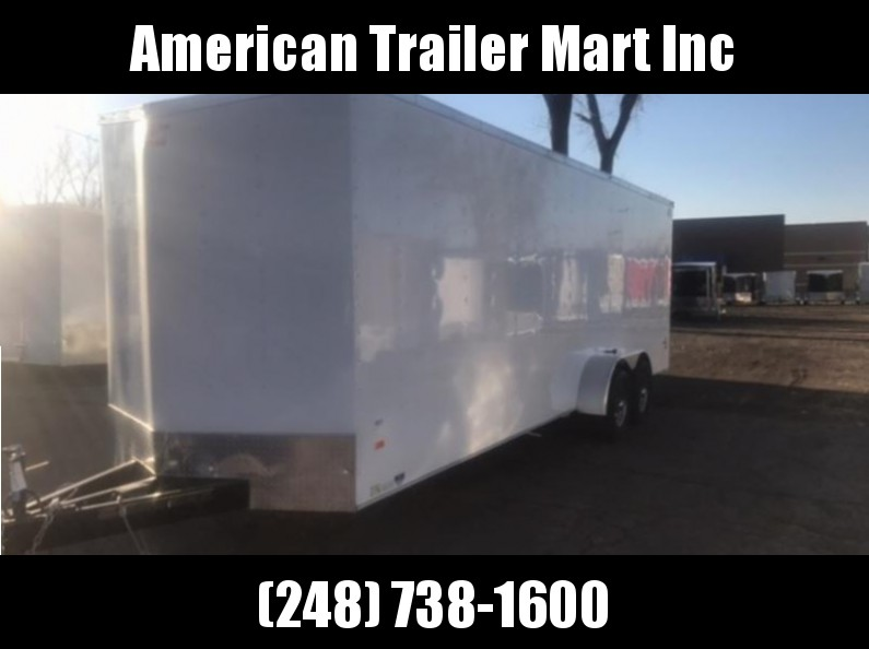 7 X 24 Tandem Axle Enclosed Trailer