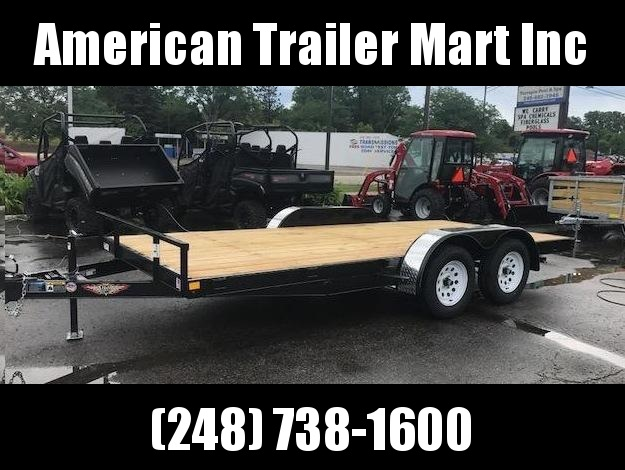 "82"" X 16  Car Hauler/Flatbed Trailer"