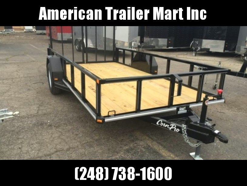6.5 X 14 Single Axle Open Utility Trailer