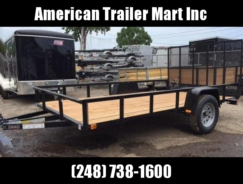 6.5 X 12 Single Axle Open Utility Trailer