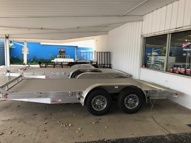 8 X 18 Open Aluminum Car Hauler