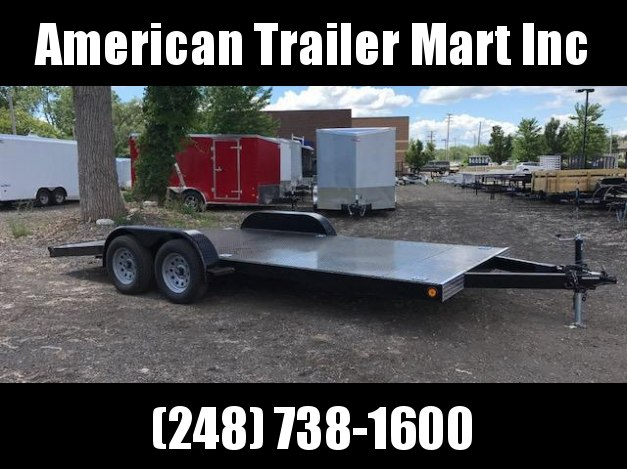 "83"" X 18 Open Car Hauler / Flatbed Trailer"