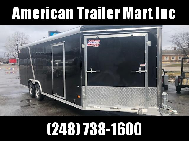 8.5 X 24 Tandem Axle Enclosed Snowmobile/All Sport/Car Hauler Trailer